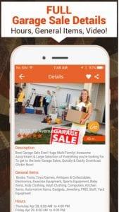 glickin garage sales app