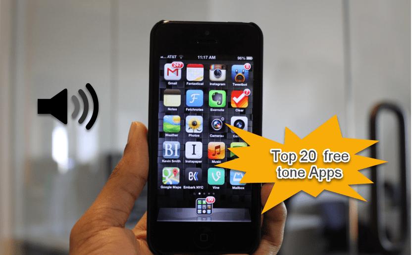 Ringtone 20 free tone apps
