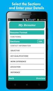 smart resume builder app smart resume builder app