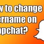 snapchat how to change username