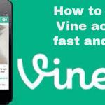 how to delete vine account