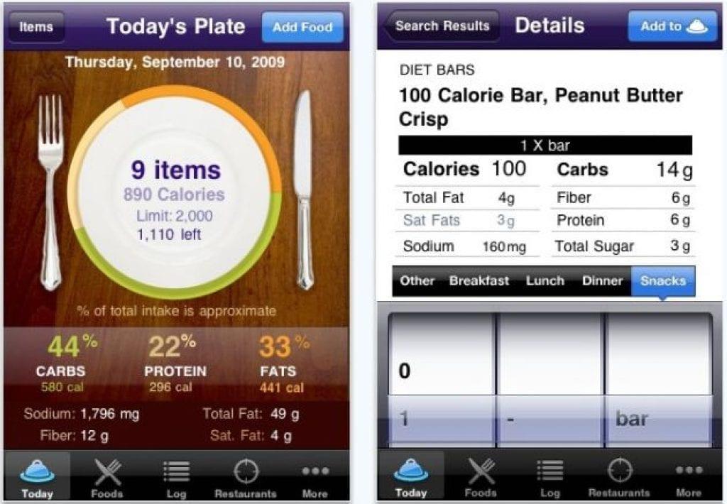 Healthy Food Finder Iphone App