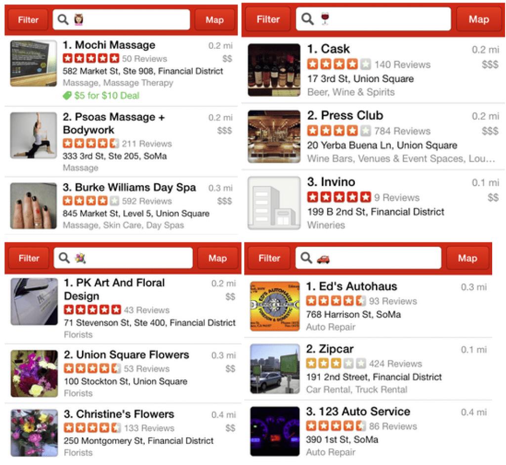 Restaurant reviews yelp - Yelp Restaurant Finder App