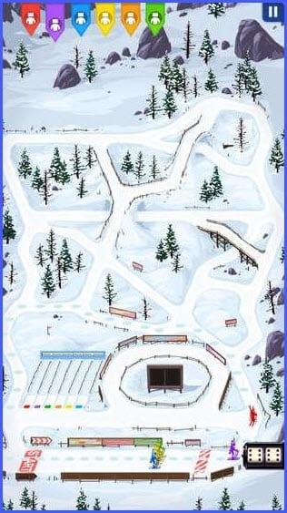 Biathlon Free. Board Game