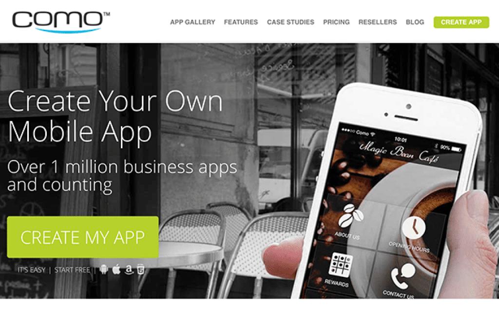 COmo app builder