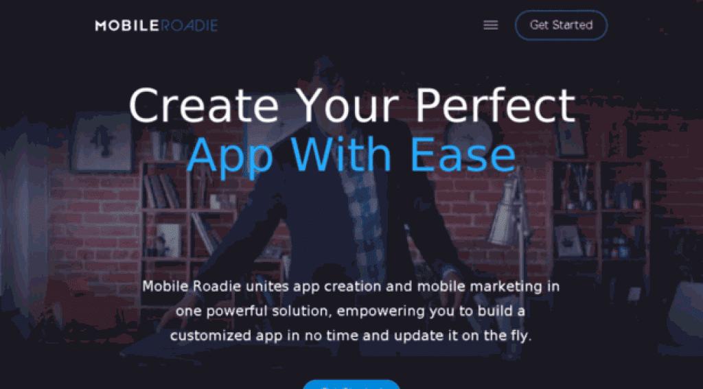 mobileroadie-com app builder
