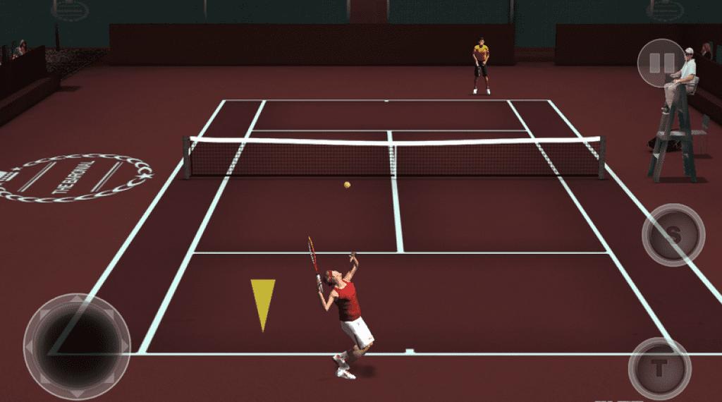 Cross tennis court app