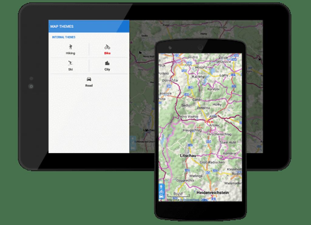 Offline Maps locus maps