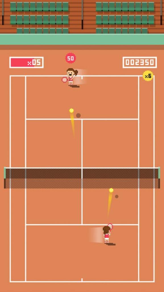 Tiny tennis