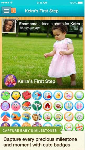 Baby Tracker & Digital Scrapbook