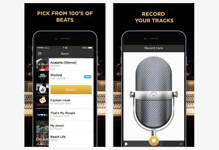 battle me rap studio app
