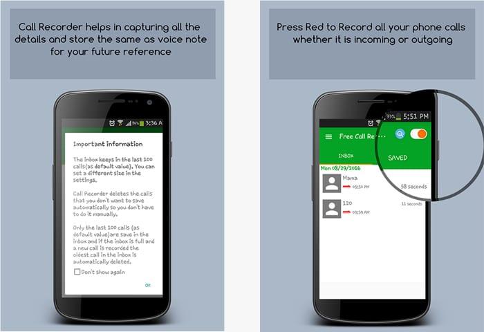 free call recorder spy app