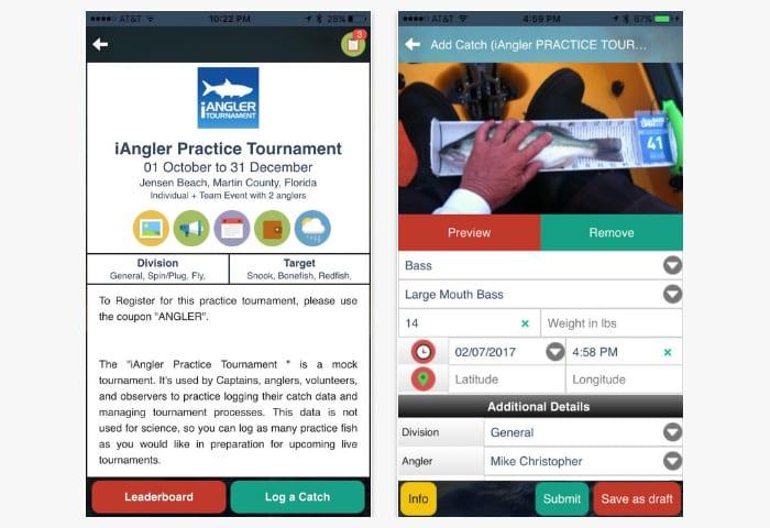 iangler app
