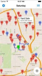 yard sale treasure map