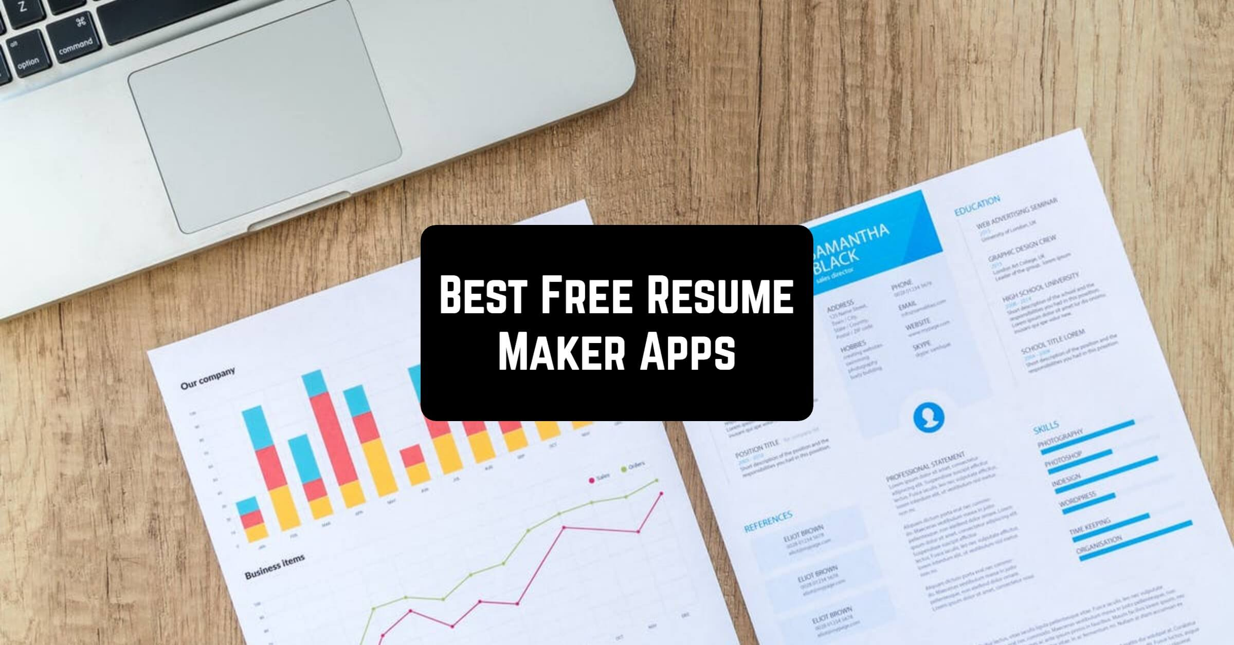 8 Best Resume Apps Free Download Bonus Free Apps For Android And Ios