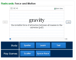 Force and Motion flashcards Quizlet-124008