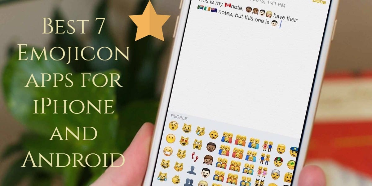 Best 7 Emoji Apps For Iphone Android Free Apps For Android And Ios