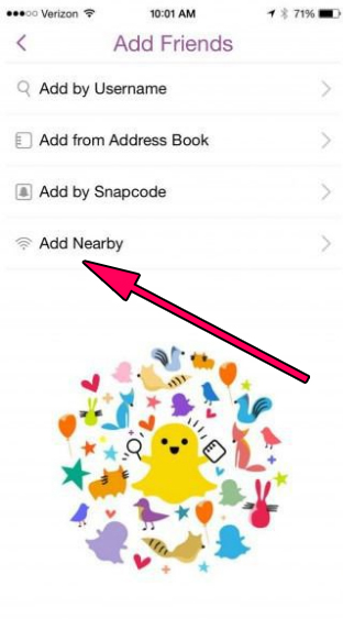 add nearby feature