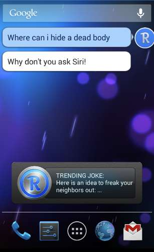 robin siri alternative for android