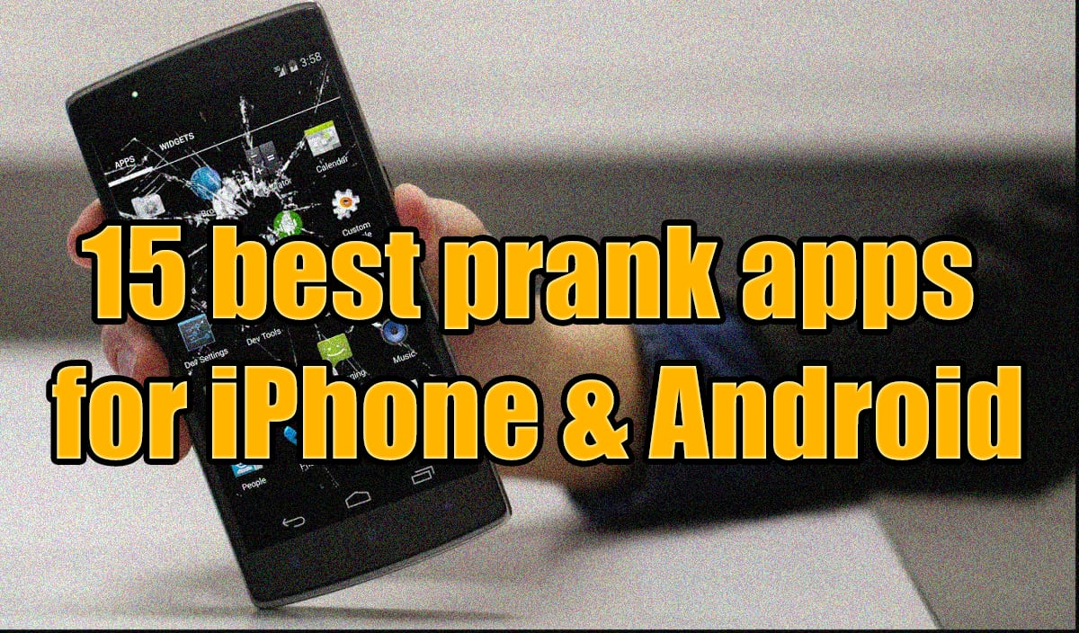 best prank apps foriPhone and Android
