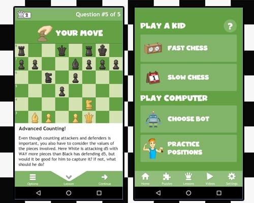 chess for kids screenshot