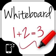 Whiteboard for kids: free drawing and coloring board for toddlers