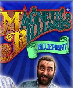 magnetic billiards blueprint icon
