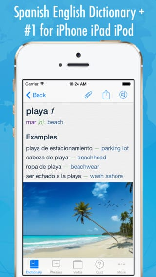 Spanish English Dictionary + Freemium