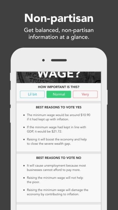 Voter - Matchmaking for Politics