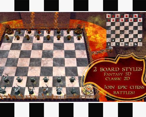 war of chess screenshot