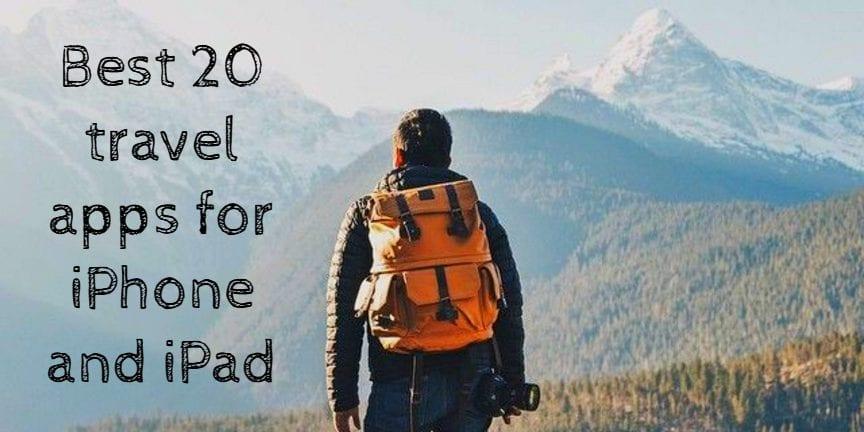 20 travel apps