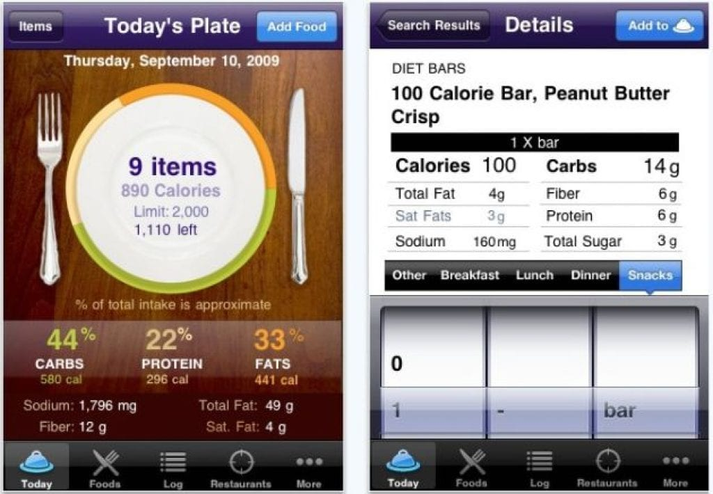 Healthy Food Finder Iphone App