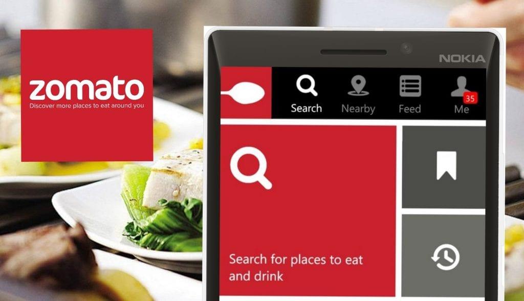 zomato-app restaurant finder
