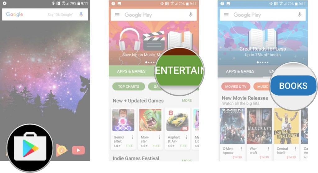 How to Download and Share Books on Google Play | Free apps