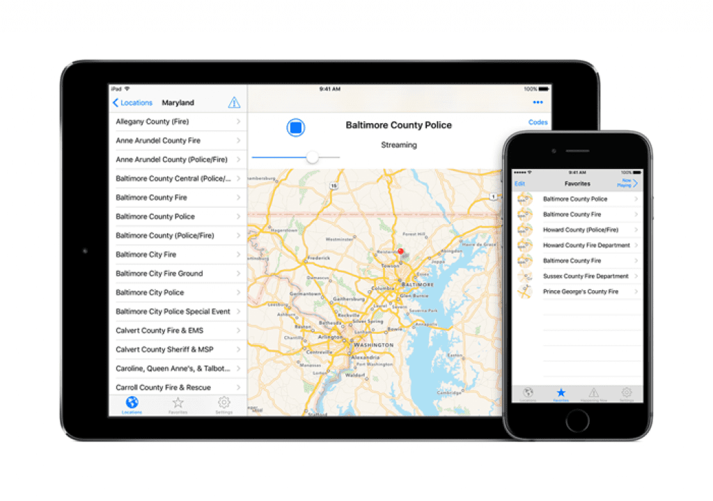 7 best police scanner apps for IOS & Android | Free apps for