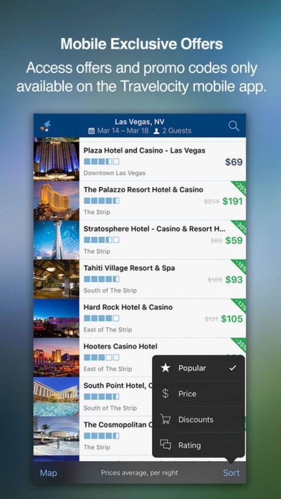 travelocity travel app