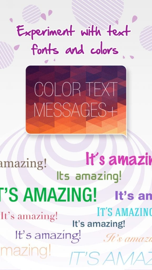 color text messages