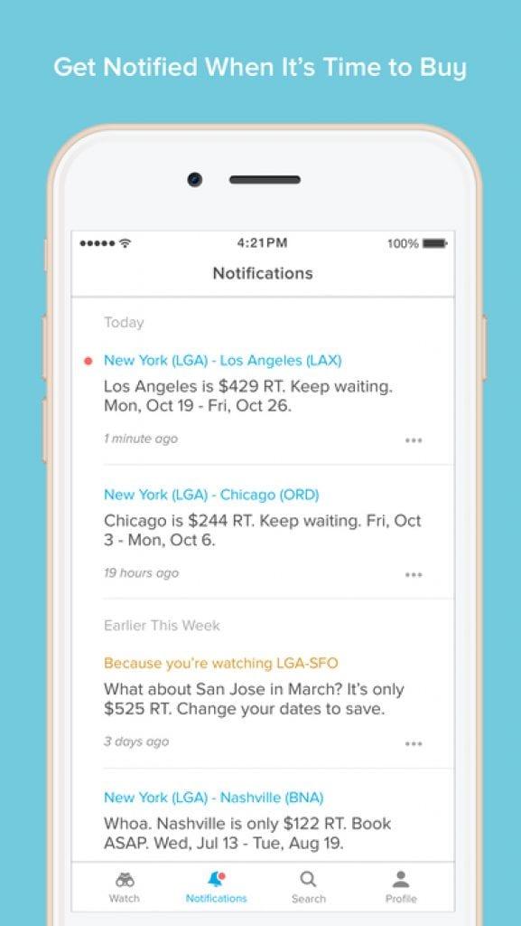 hopper travel app