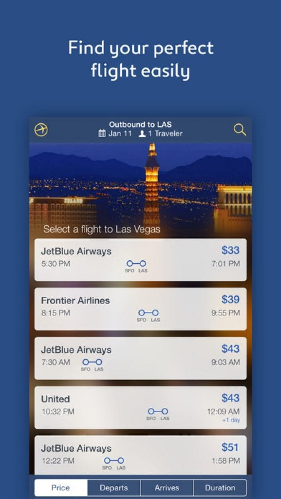 expedia trAVEl app