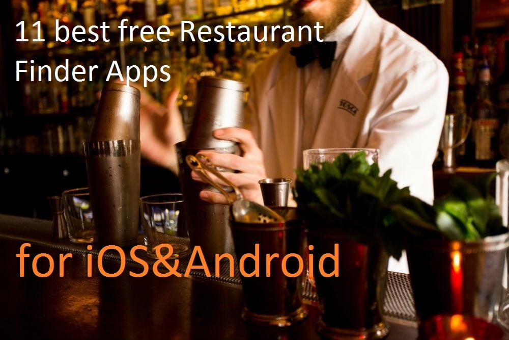 11 best Restaurant Finder apps for iOS&android review