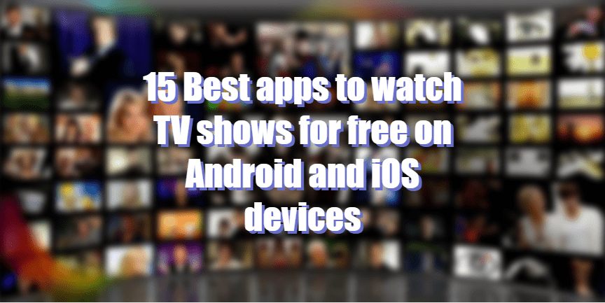 stream tv shows free iphone