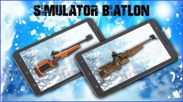Simulator Biathlon Weapon