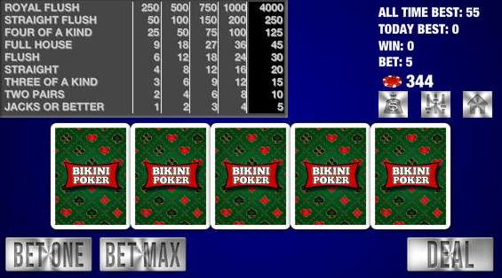 Bikini Poker Casino