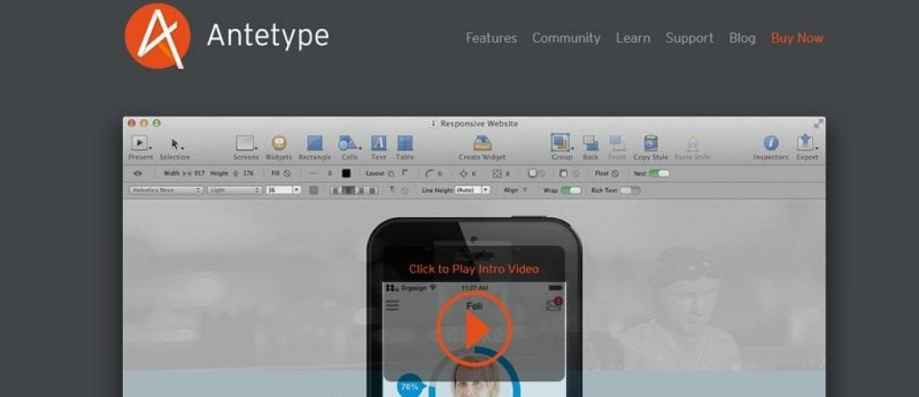 antetype app maker