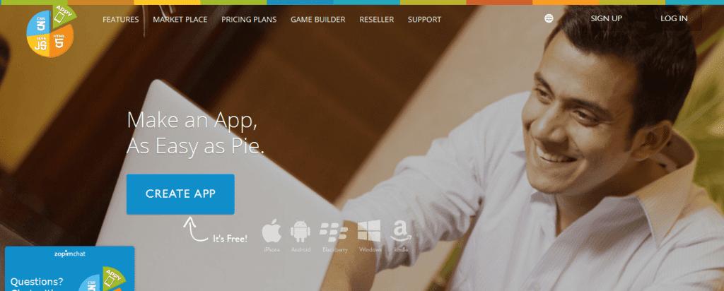 appy-pie app maker