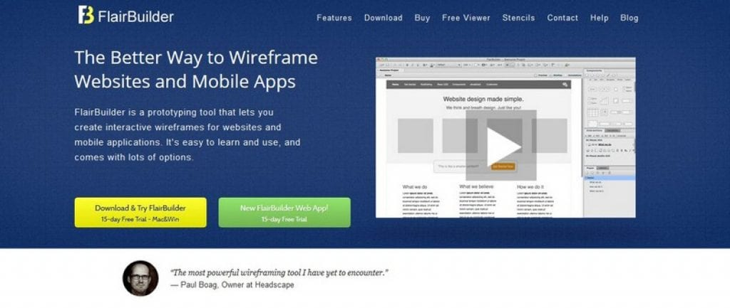 flairbuilder app maker