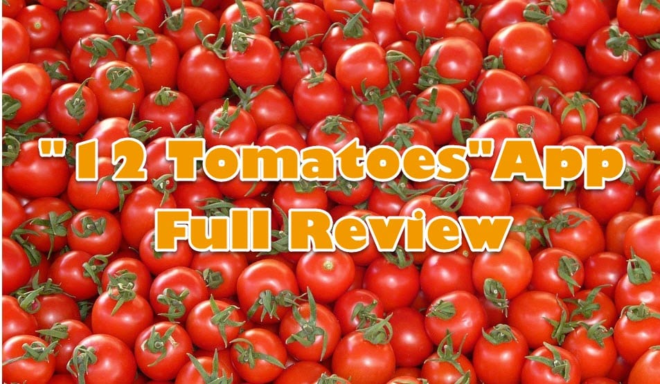 12 tomatoes app review