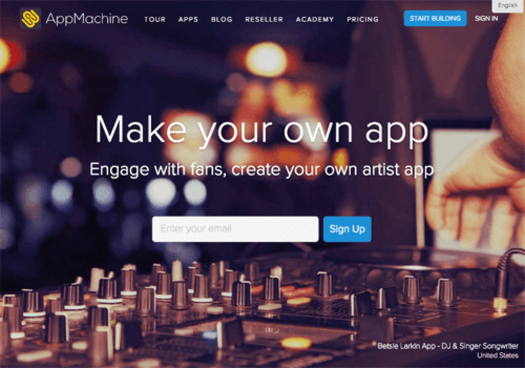 appmachine app creator