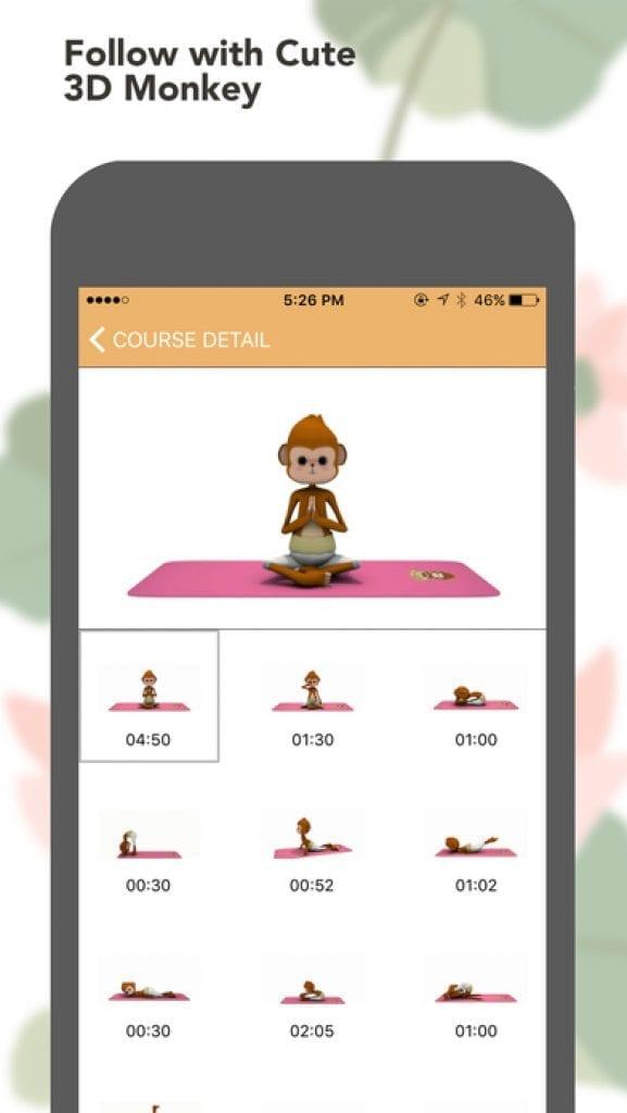 yoga monkey app