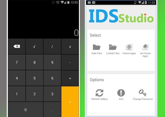 smart hide calculator screenshot